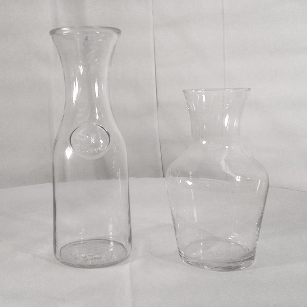 Carafes - 1L or 500ml