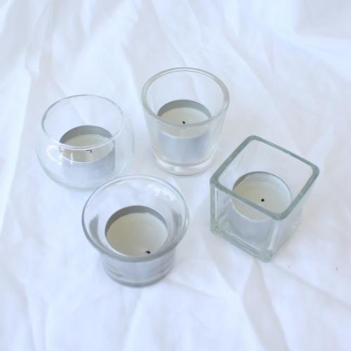 Floating Glass Tealight Holders